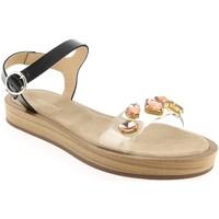 Chaussures Femme Sandales et Nu-pieds Maypol ETILO Noir/rose