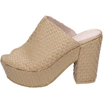 Chaussures Femme Sandales et Nu-pieds Sara Lopez sandales cuir synthétique beige