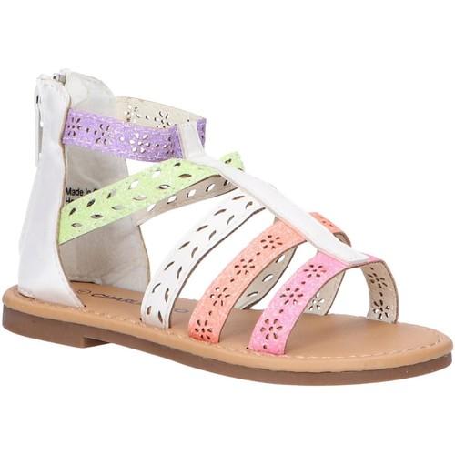Chaussures Fille Sandales et Nu-pieds Charlie Co B144910-B1758 Blanco