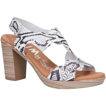 Chaussures Femme Sandales et Nu-pieds Oh My Sandals 4728-RE1CO Blanco