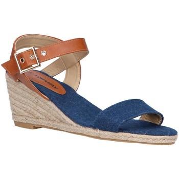 Chaussures Femme Espadrilles Top Way B807743-B6600 Azul