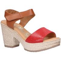 Chaussures Femme Sandales et Nu-pieds Oh My Sandals 4709-CR4CO Rojo