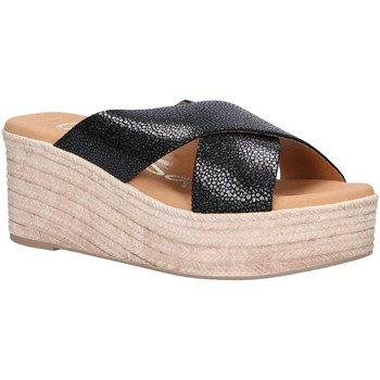 Chaussures Femme Espadrilles Oh My Sandals 4723-CR2 Negro