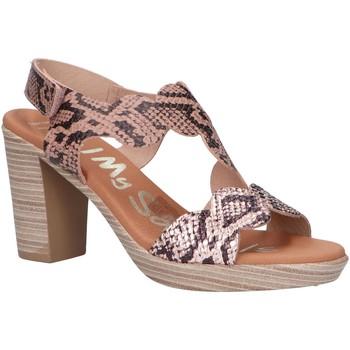 Chaussures Femme Sandales et Nu-pieds Oh My Sandals 4728-RE88CO Beige