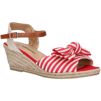 Chaussures Femme Espadrilles Top Way B269193-B6600 Rojo