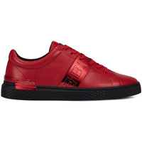 Chaussures Homme Baskets basses Ed Hardy - Stripe low top-metallic red/black Rouge