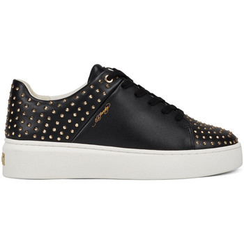 Chaussures Femme Baskets basses Ed Hardy - Stud-ed low top black/gold Noir