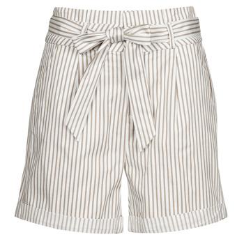 Vêtements Femme Shorts / Bermudas Vero Moda VMEVA Blanc / Bleu