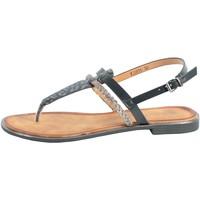 Chaussures Femme Sandales et Nu-pieds The Divine Factory Sandale FJ3974 Noir