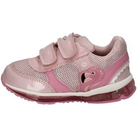 Chaussures Fille Baskets basses Geox B0285C-0HI14 ROSA