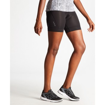 Vêtements Femme Shorts / Bermudas Dare 2b Short technique vélo HABIT Orange Noir