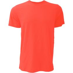 Vêtements Homme T-shirts manches courtes Bella + Canvas CA3001 Rouge coquelicot
