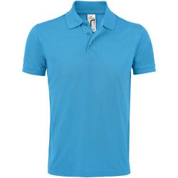 Vêtements Homme Polos manches courtes Sols Prime Bleu