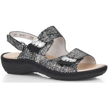 Chaussures Femme Sandales et Nu-pieds Remonte Dorndorf KOMODO Noir
