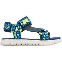 Chaussures Enfant Sandales et Nu-pieds Camper Sandales  Oruga Sandal bleulectrique