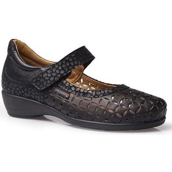Chaussures Femme Ballerines / babies Calzamedi LETINAS  SQUARE BLACK