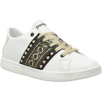Chaussures Femme Baskets basses Desigual 20sskp28 blanc