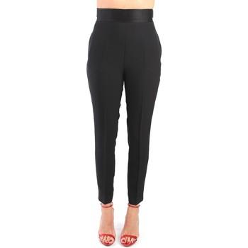 Vêtements Femme Pantalons cargo Simona Corsellini P20CPPA019 Pantalone Femme Noir Noir