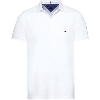 Vêtements Homme Polos manches courtes Tommy Hilfiger CORE TOMMY REGULAR POLO blanc