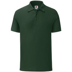 Vêtements Homme Polos manches courtes Fruit Of The Loom SS221 Vert bouteille