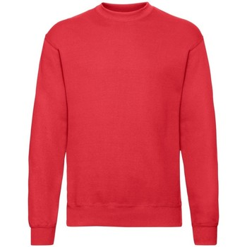 Vêtements Homme Sweats Fruit Of The Loom 62202 Rouge chiné