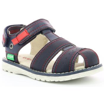 Chaussures Garçon Sandales et Nu-pieds Kickers Pepster MARINE