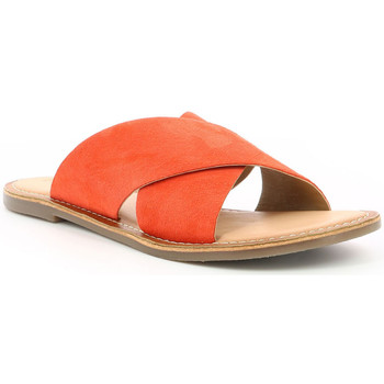 Chaussures Femme Mules Kickers Diaz ORANGE