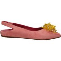 Chaussures Femme Ballerines / babies 181 GAROFANO CAMOSCIO rosa