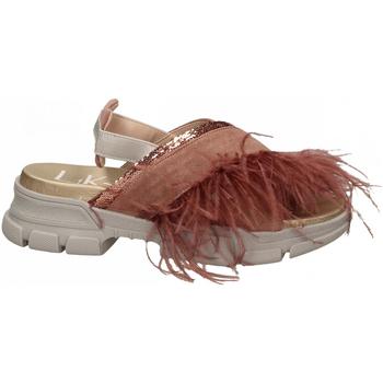 Chaussures Femme Sandales et Nu-pieds L4k3 SANDAL PIUME STRUZZO rosa