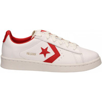 Chaussures Baskets basses Converse PRO LEATHER OG OX white-university-red