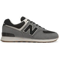 Chaussures Homme Baskets basses New Balance 574 Blanc, Noir, Gris