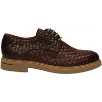 Chaussures Homme Derbies Brecos INTRECCIATO brandy