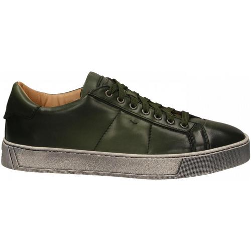 Chaussures Homme Derbies Santoni DERBY 7 OCC. GOOSE verde