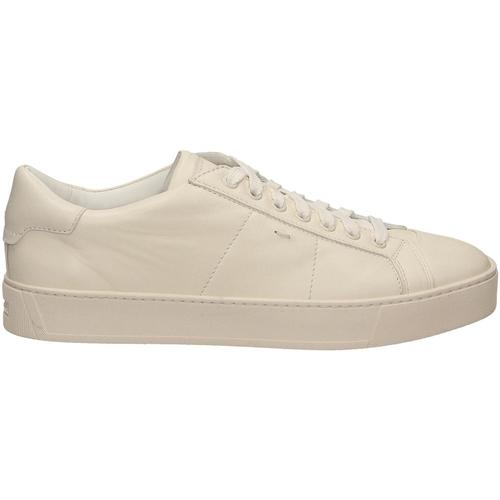 Chaussures Homme Baskets basses Santoni PILARE-SSS bianco