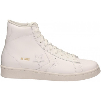 Chaussures Homme Baskets montantes Converse PRO LEATHER MID white