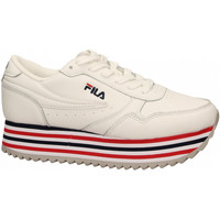 Chaussures Femme Baskets basses Fila ORBIT ZEPPA STRIPE 02p-white-stripe