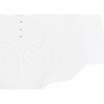 Sous-vêtements Femme Shorties & boxers Pommpoire Shorty ivoire Pourquoi Pas Blanc