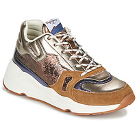 Chaussures Femme Baskets basses Pepe jeans HARLOW SPACE Bronze