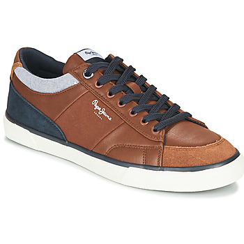 Chaussures Homme Baskets basses Pepe jeans KENTON SPORT Marron