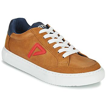 Chaussures Garçon Baskets basses Pepe jeans ADAM ARCHIVE Camel
