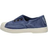 Chaussures Garçon Baskets basses Natural World - Scarpa elast blu 470E-628 BLU