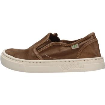 Chaussures enfant Natural World - Slip on marrone 6472E-686