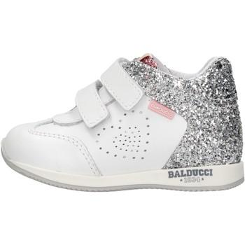 Chaussures Garçon Baskets montantes Balducci - Polacchino bianco CSPO3905 BIANCO