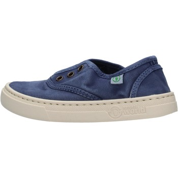 Chaussures Garçon Baskets basses Natural World - Sneaker blu 6470E-628 BLU