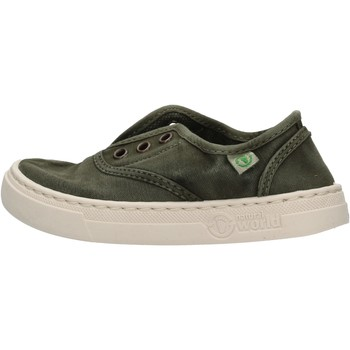 Chaussures Garçon Baskets basses Natural World - Sneaker verde 6470E-622 VERDE