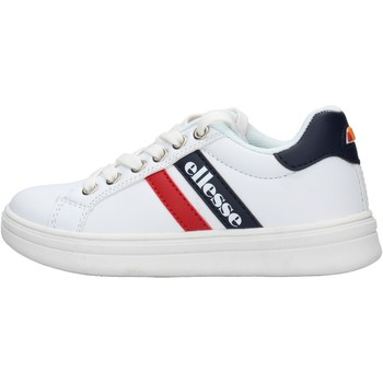 Chaussures Garçon Baskets basses Ellesse - Maximilian bianco/blu ES0017S0032 BIANCO