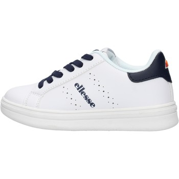 Chaussures Garçon Baskets basses Ellesse - Kemp bco/blu ES0014S0032 BIANCO