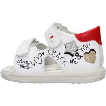 Chaussures Fille Sandales et Nu-pieds Falcotto - Sandalo bianco NORTE-1N16 BIANCO