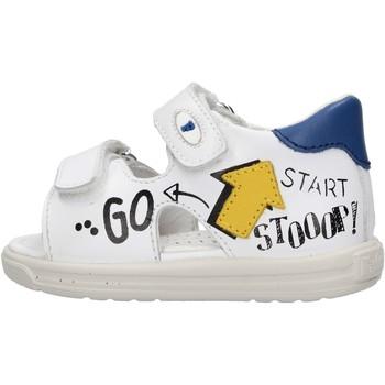 Chaussures Garçon Sandales et Nu-pieds Falcotto - Sandalo bianco NORTE-1N15 BIANCO