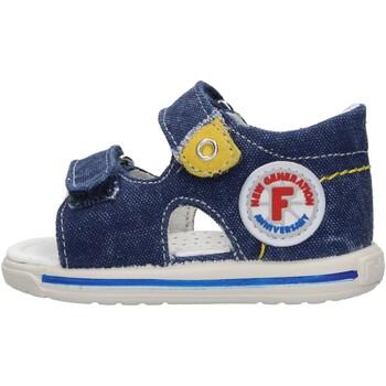 Chaussures Garçon Sandales et Nu-pieds Falcotto - Sandalo jeans NEMO-0C06 BLU